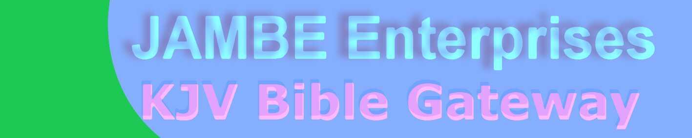JAMBE KJV Bible Banner